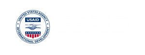 USAID logo white