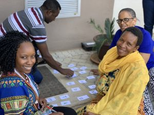 8-day TaRL workshop participants engage in a hands-on phonetics activity during the event in Gaborone, Botswana