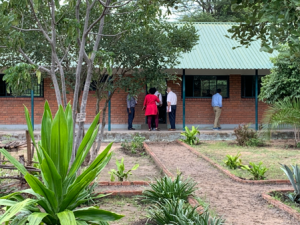 The TaRL Africa Board enters a classroom in Kazungula, Zambia